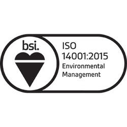 Logo for ISO 14001: 2015