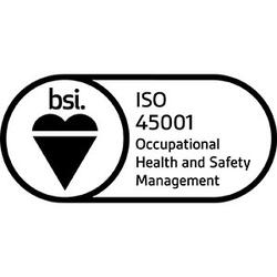 Logo for ISO 45001: 2018