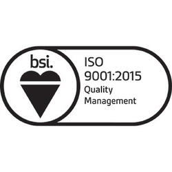Logo for ISO 9001: 2015