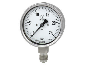 WIKA relative pressure gauges