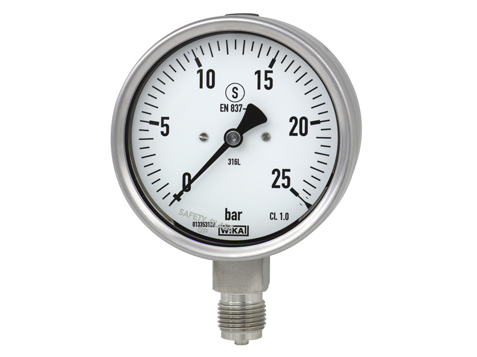 Independent Pressure Gauge Wikai Industrial Irrigation Equipment